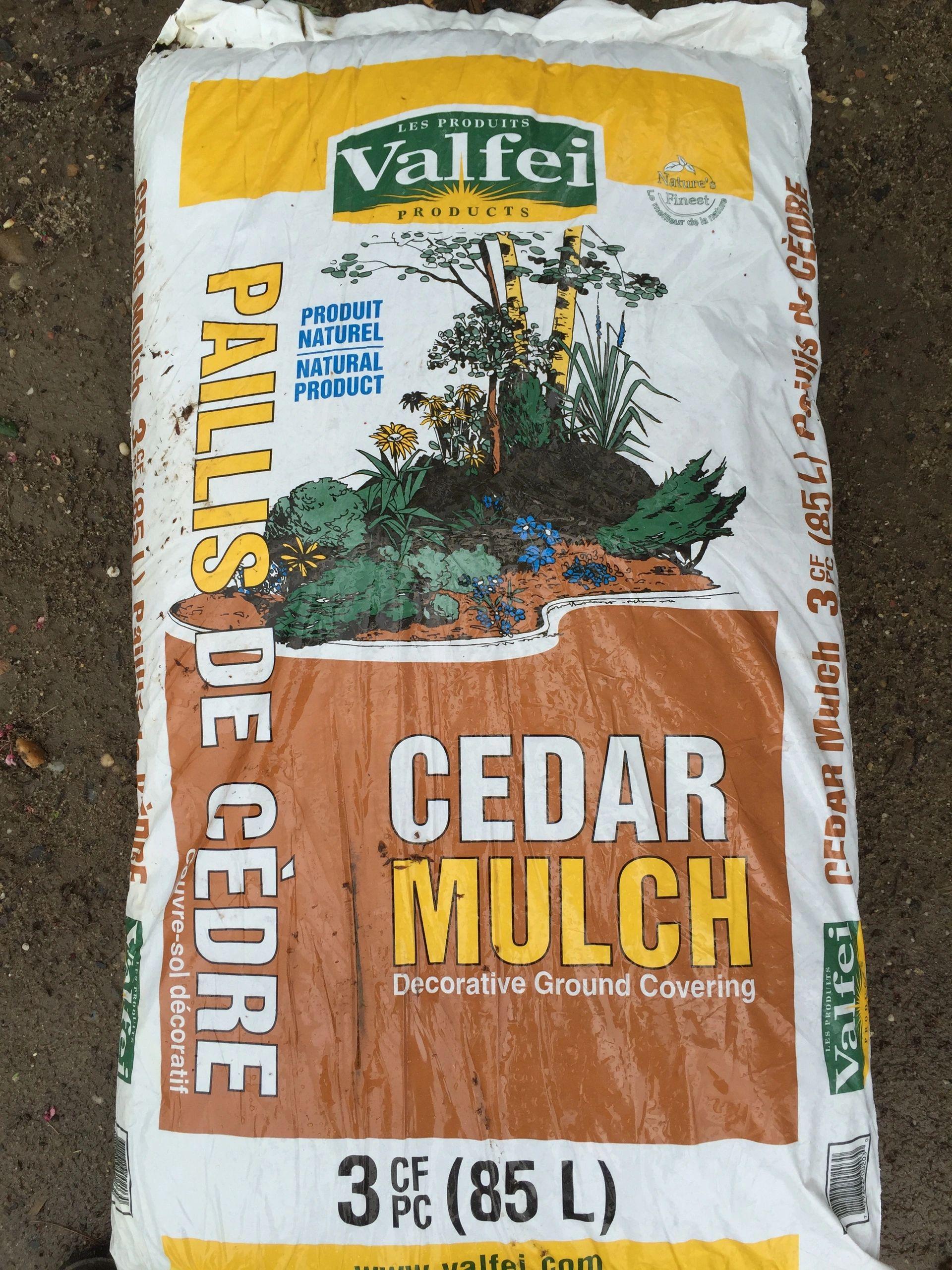 Valfei Cedar Natural Mulch