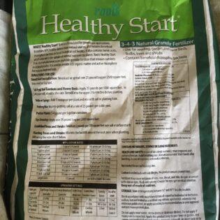 Healthy Start Fertilizer