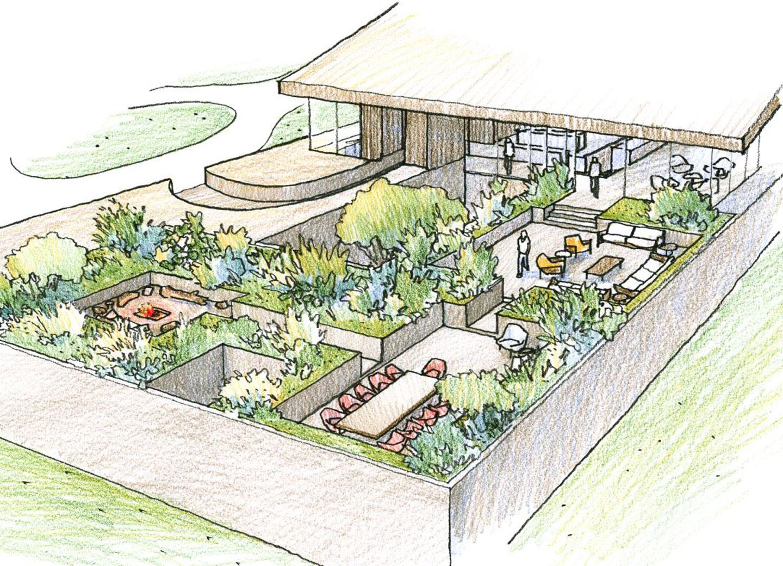 Watermill concept sketch
